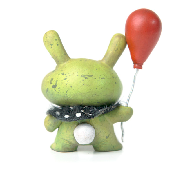 Green Baby Balloon Bunny