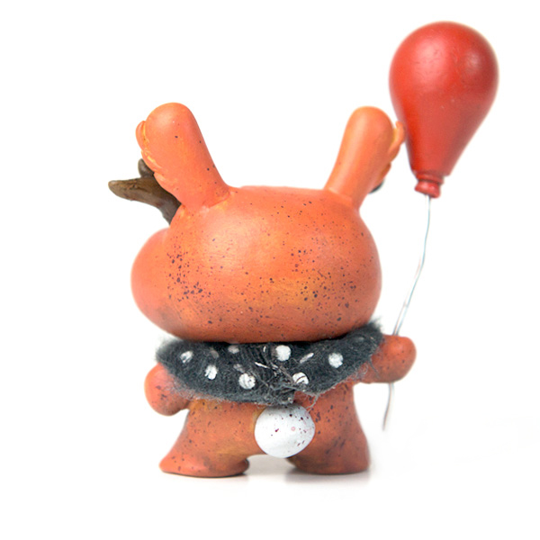 Orange Baby Balloon Bunny